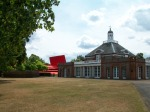 Figure 0.12: Serpentine Gallery (formerly a refreshment pavilion), with Jean Nouvel's 2010 Serpentine Pavilion, Kensington Gardens, London. Courtesy of the Serpentine Gallery. Photograph: Joel Robinson.