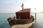 Figure 0.17: Paolo W. Tamburella, Djahazi, 2009, cargo vessel and shipping container, serving as the pavilion of the Cormoros Islands at the 53rd Venice Biennale. Courtesy of Paolo W. Tamburella.