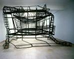 Figure 0.7: Monika Sosnowska, 1:1, 2007, steel. Courtesy of the artist, Foksal Gallery Foundaton, The Modern Institute, Galerie Gisela Capitain, Kurimanzutto, and Hauser & Wirth.