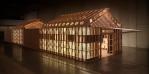 Figure 0.8: Shigeru Ban and Jean de Gastines, Hermès Pavilion, 2011, Design Tide Exhibition, Tokyo. Courtesy of Shigeru Ban Architects.