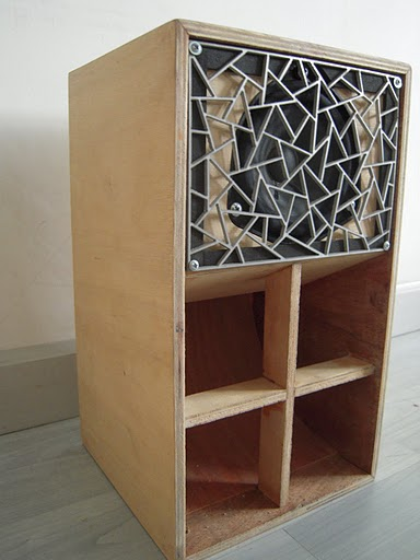Figure 13.3: Speakers designed by Laoban Soundsystem. Courtesy of the artists.