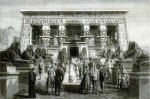 4.2: Exterior of the Egyptian pavilion-temple in the Paris 1867 exposition. Image taken from Illustrated London News, 16 November 1867.