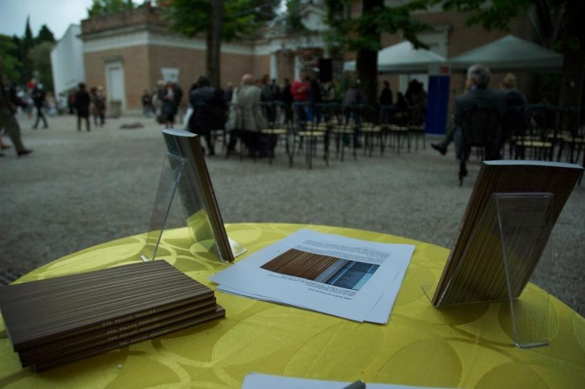 Figure 11.3: The Dallas Pavilion presented at the 55th Venice Biennale in 2013. Courtesy of Jaspar Joseph-Lester & Michael Corris.