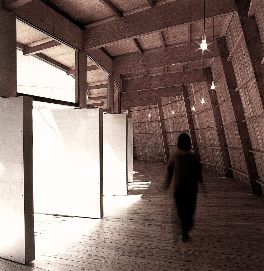 Figure 16.3: Herd (Architectural Practice), Internal view 1, Newcastle Region Art Gallery, Australia, 1996. Credit Tim Lincoln. Courtesy of the architect.