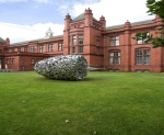 Figure 9.2: Photograph of sculpture at Whitworth Art Gallery by Subodh Gupta, '27 Light Years', for Asia Triennial 2008.