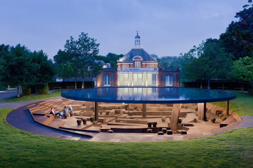 Figure 12.7: Jacques Herzog & Pierre de Meuron and Ai Weiwei, Serpentine Gallery Pavilion, 2012. Courtesy of the Serpentine Gallery. Photograph Iwan Baan