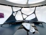 Figure 12.9: 'Zaha Hadid – Une architecture' exhibition, at the Mobile Art, Institut du Monde Arabe, Paris, 2011, Courtesy of IMA and Zaha Hadid Architects.