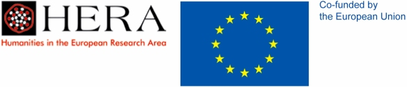 Co-funded by the European Union, HERA logo and European Union Flag.
